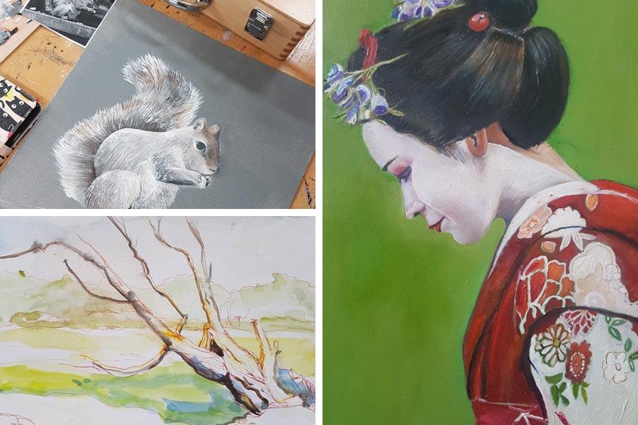 Tekenen en Schilderen opleiding | Crejat | Kunstacademie | Beeldende kunst