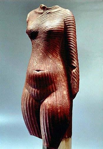 In de Egyptische kunst