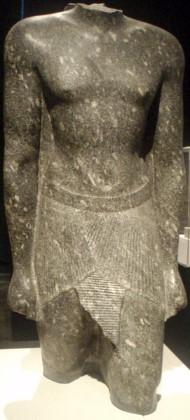 Torso in de Egyptische kunst