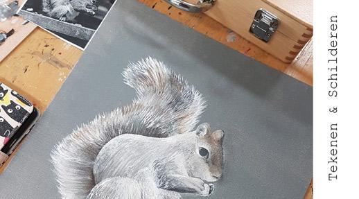 Opleiding Tekenen-Schilderen | Crejat Alkmaar