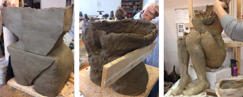 Groot werken met klei | blog | Crejat Alkmaar