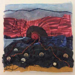 Beelden werken met Textiel | cursus bij Crejat Alkmaar