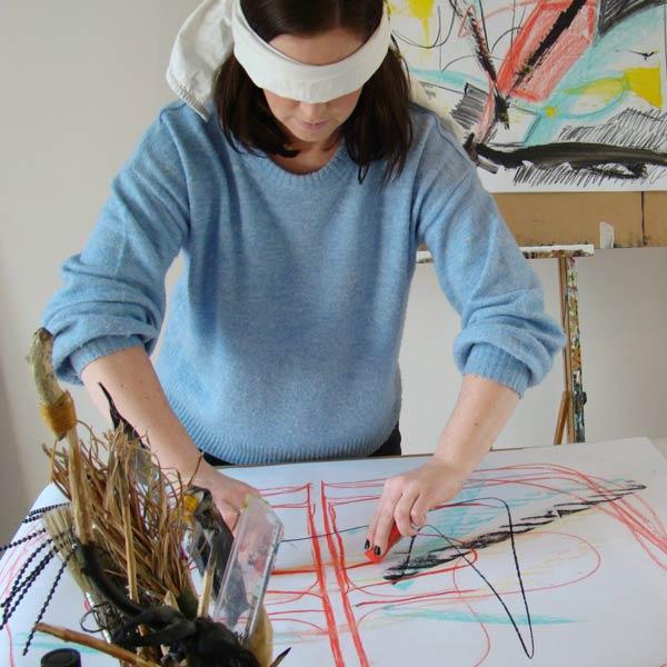 Experimenteel Schilderen | Cursus schilderen bij Crejat Alkmaar