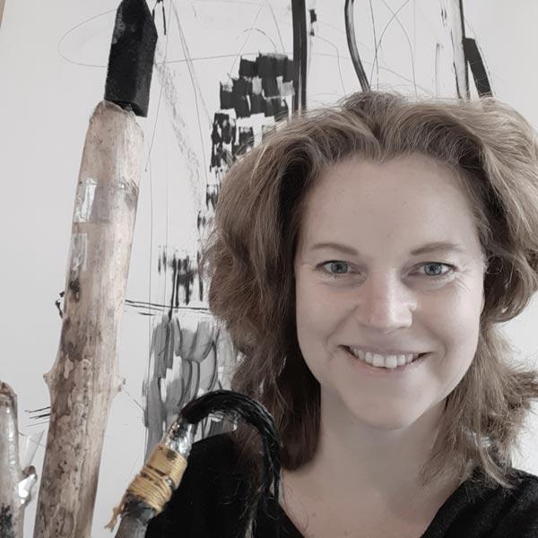 Experimenteel Schilderen bij Crejat Alkmaar