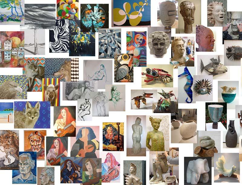 Crejat | Parttime Kunstacademie voor volwassenen